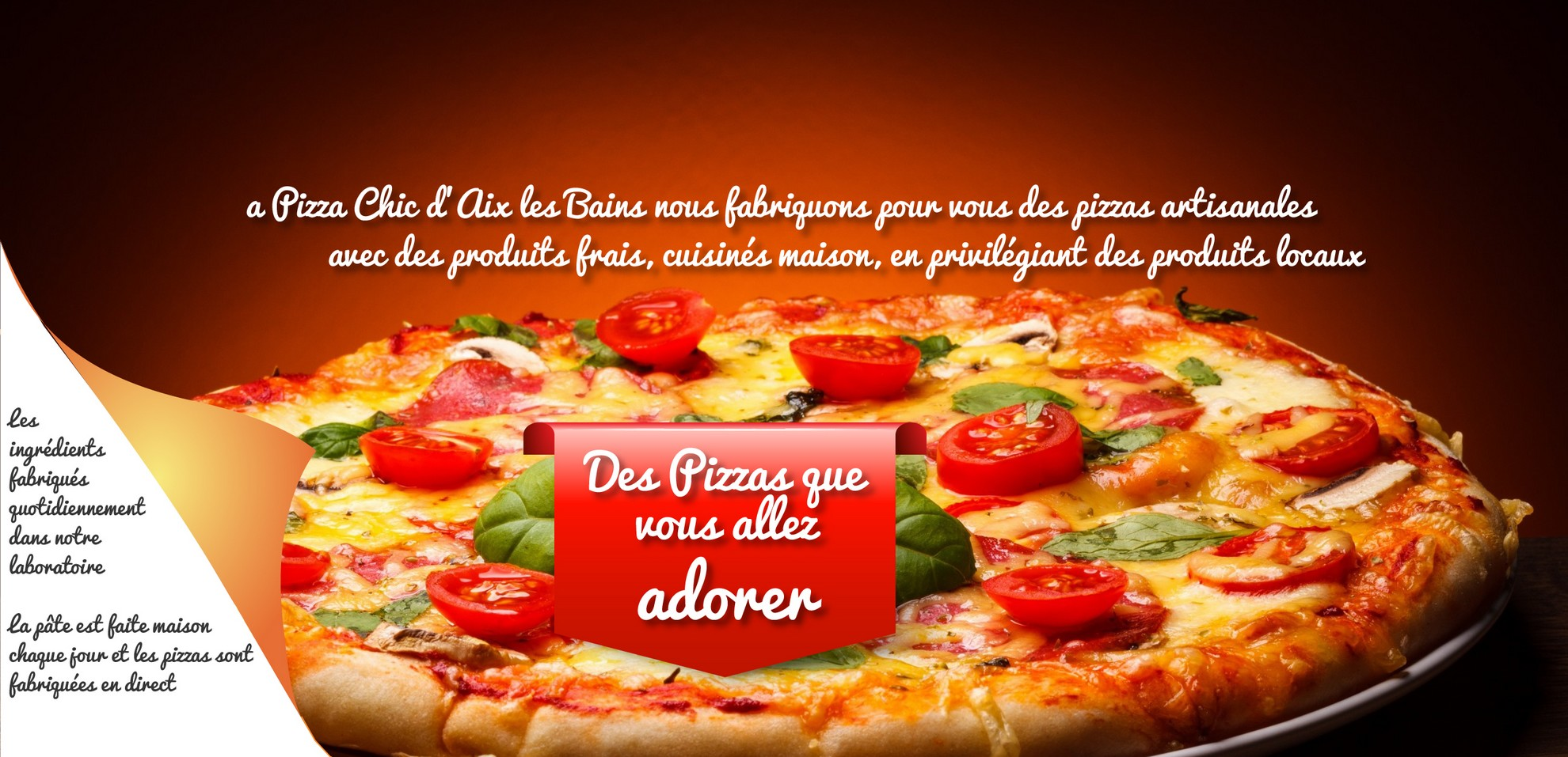 Pizza Chic à Aix les bains
